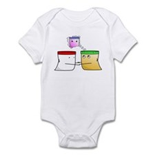 Peanut Butter Spreads the Love Infant Bodysuit