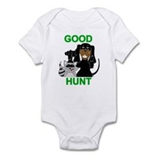 Raccoon Hunting Hound Infant Bodysuit
