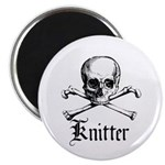 Knitter - Crafty Pirate Skull 2.25