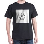 Knitter - Crafty Pirate Skull Dark T-Shirt