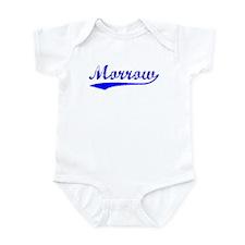 Vintage Morrow (Blue) Infant Bodysuit