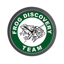 Frog Discovery Team Wall Clock