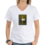 Trumpeter Women's V-Neck T-Shirt