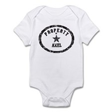 Property of Axel Infant Bodysuit