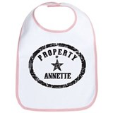Property of Annette Bib