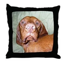 Vizsla Throw Pillow