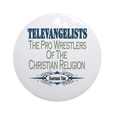 Televangelists Ornament (Round)