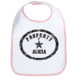 Property of Alicia Bib