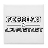 Persian Accountant Tile Coaster