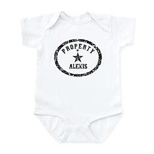 Property of Alexis Infant Bodysuit