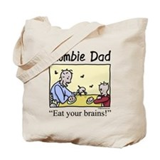 Zombie dad Tote Bag
