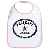 Property of Janice Bib