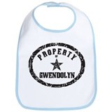 Property of Gwendolyn Bib