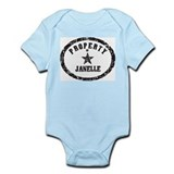 Property of Janelle Onesie