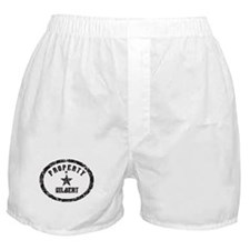 Property of Gilbert Boxer Shorts