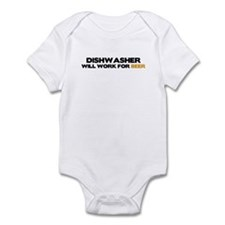 Dishwasher Infant Bodysuit