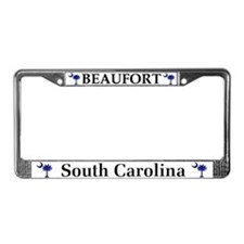 Beaufort South Carolina License Plate Frame