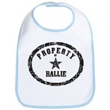 Property of Hallie Bib