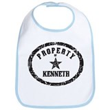 Property of Kenneth Bib