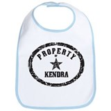 Property of Kendra Bib