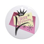 Queen of Everything Keepsake (Round)