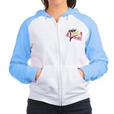 Queen of Everything Women's Raglan Hoodie