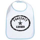 Property of Xander Bib