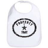 Property of Toby Bib
