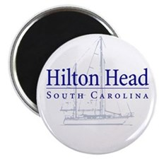 Hilton Head Sailboat - Magnet