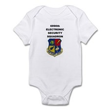 6990TH ELECTRONIC SECURITY SQUADRON Infant Bodysui