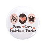 Peace Love Sealyham Terrier 3.5