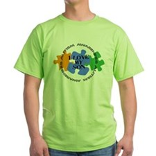 Autism Awrnss - Love Son T-Shirt