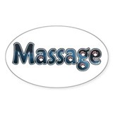 Massage Oval Decal