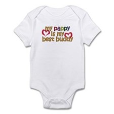 Pappy is My Best Buddy Infant Bodysuit