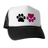 Heart Paw Hat