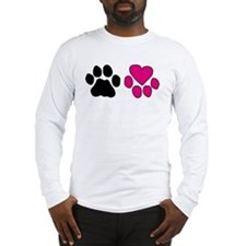 Heart Paw Long Sleeve T-Shirt