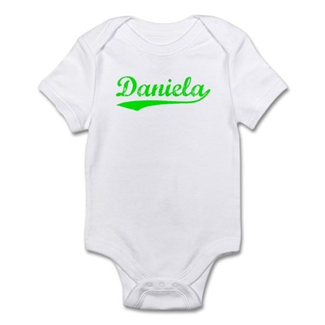 Vintage Daniela (Green) Infant Bodysuit