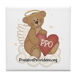 PPO Love Bear Tile Coaster