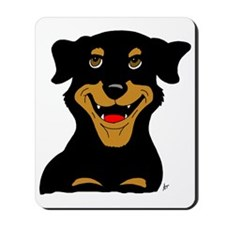 Cute Rottie Puppy Mousepad