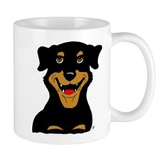 Cute Rottie Puppy Mug