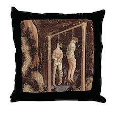 Pisanello Gallows Throw Pillow