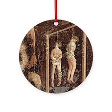 Pisanello Gallows Ornament (Round)