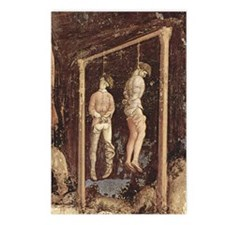 Pisanello Gallows Postcards (Package of 8)