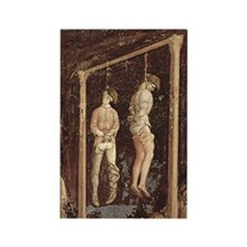 Pisanello Gallows Rectangle Magnet