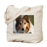 Classic Collie Tote Bag