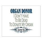 Organ Donor Small Poster