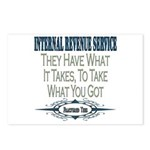 IRS Postcards (Package of 8)