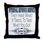 IRS Throw Pillow
