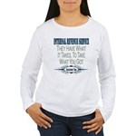IRS Women's Long Sleeve T-Shirt