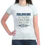 IRS Jr. Ringer T-Shirt